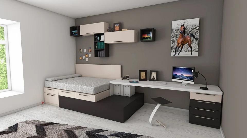 Las mejores formas de decorar y amueblar un dormitorio pequeño